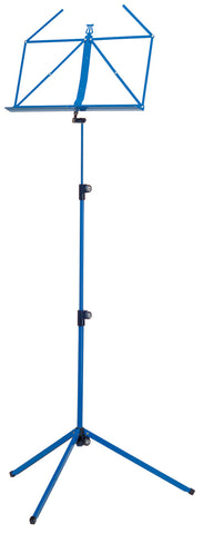 The K&M 100/1 Classic Music Stand - Blue