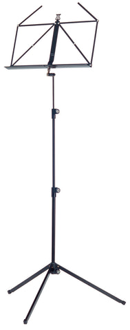 The K&M 100/1 Classic Music Stand - Black