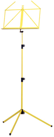 The K&M 100/1 Classic Music Stand - Yellow
