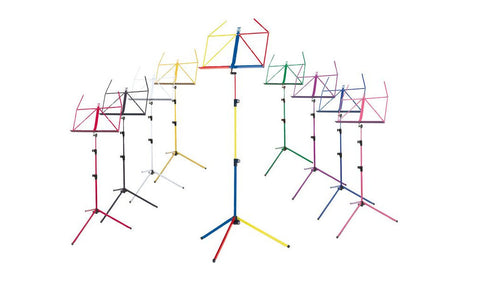 The K&M 100/1 Classic Music Stand - An Entire Rainbow of Color Options!