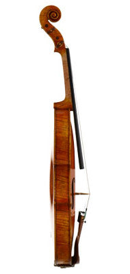 Jonathan Li Model 503 Select Stradivari Violin - Profile