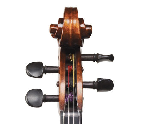 Ivan Dunov Standard Model 401 Viola - Scroll