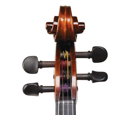 Ivan Dunov Superior Model 402 Viola - Scroll