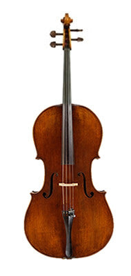 Geoffrey Chi Antique Model Cello - Feature