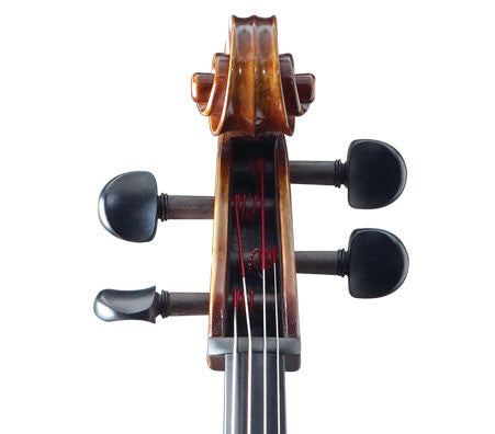 Rudoulf Doetsch Model 701 Stradivari Cello - Scroll