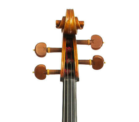 Jonathan Li Model 503 Stradivari Cello - Scroll