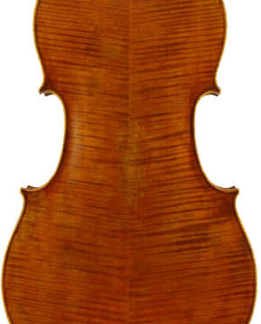 Otto Model 550 Virtuoso Cello - Back