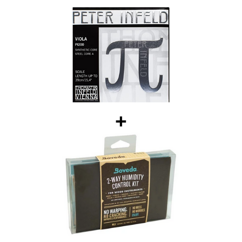 HOLIDAY BUNDLE - Peter Infeld Viola PI200 + Boveda Kit (small)