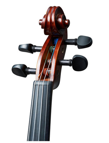Realist RV4e Amplified Acoustic Violin - Scroll