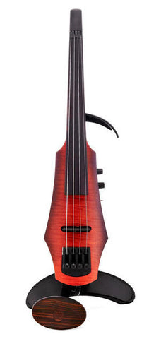 NS Design NXT Series Electric Violin - 4/5 String - Amber Sunburst