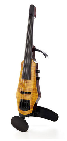 NS Design WAV4 Electric Violin (4 String) - Amber Burst Profile