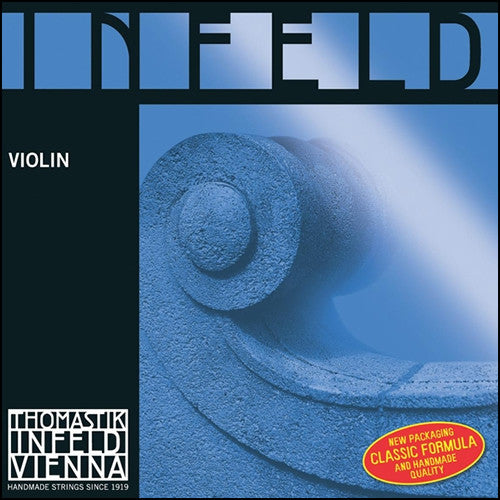 Infeld Blue Violin Strings - Ball End