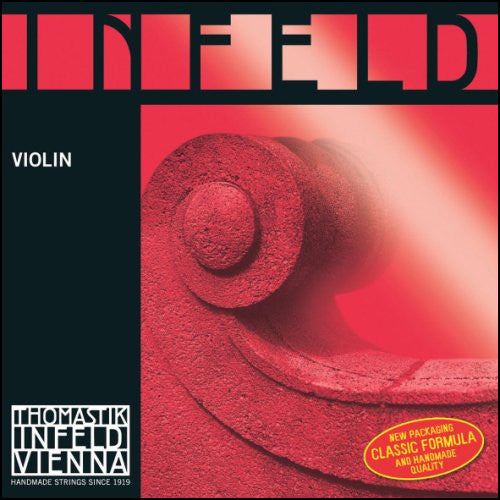 Infeld Red Violin Strings - Ball End