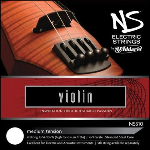 NS Design / D'Addario Electric Violin Strings