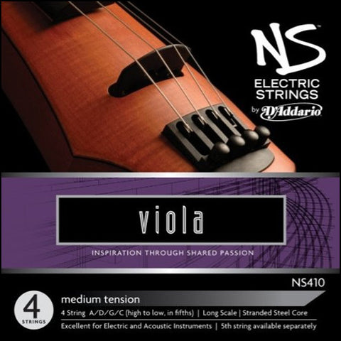 NS Design / D'Addario Electric Viola String Set