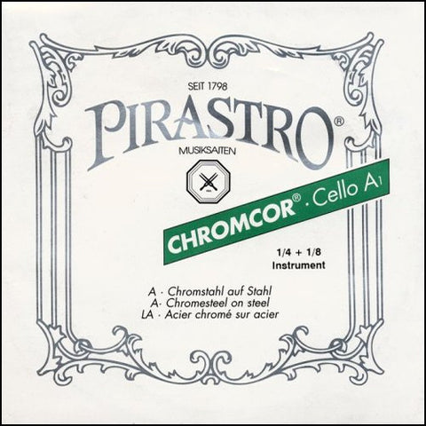 Pirastro Chromcor Chrome Cello Strings - Ball End