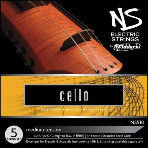 NS Design / D'Addario Electric Cello String Set