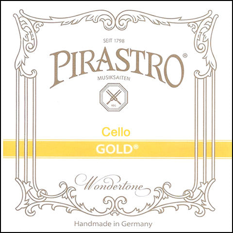 Pirastro Gold Cello Strings