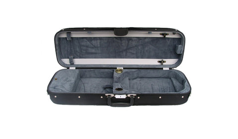 Bobelock 1002 Wooden Oblong Suspension Violin Case - Gray
