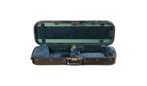 Bobelock 1002 Wooden Oblong Suspension Violin Case - Green