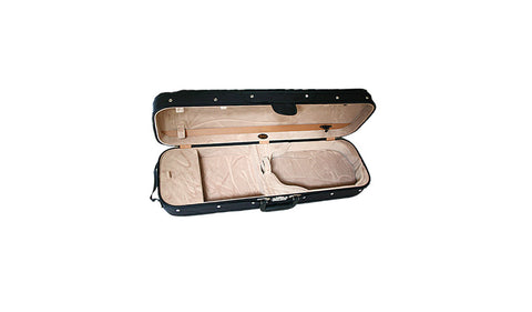 Bobelock 1002 Wooden Oblong Suspension Violin Case - Tan