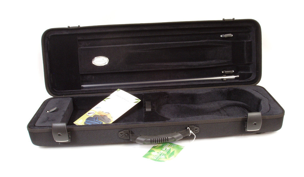Jakob Winter Green Line Convertible Violin Case - Interior