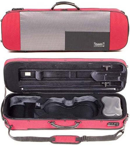 The Bam Stylus Violin Case - Red