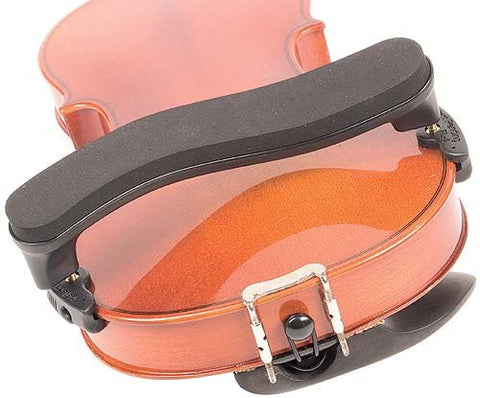 Everest Collapsible Violin Shoulder Rest - On Violin