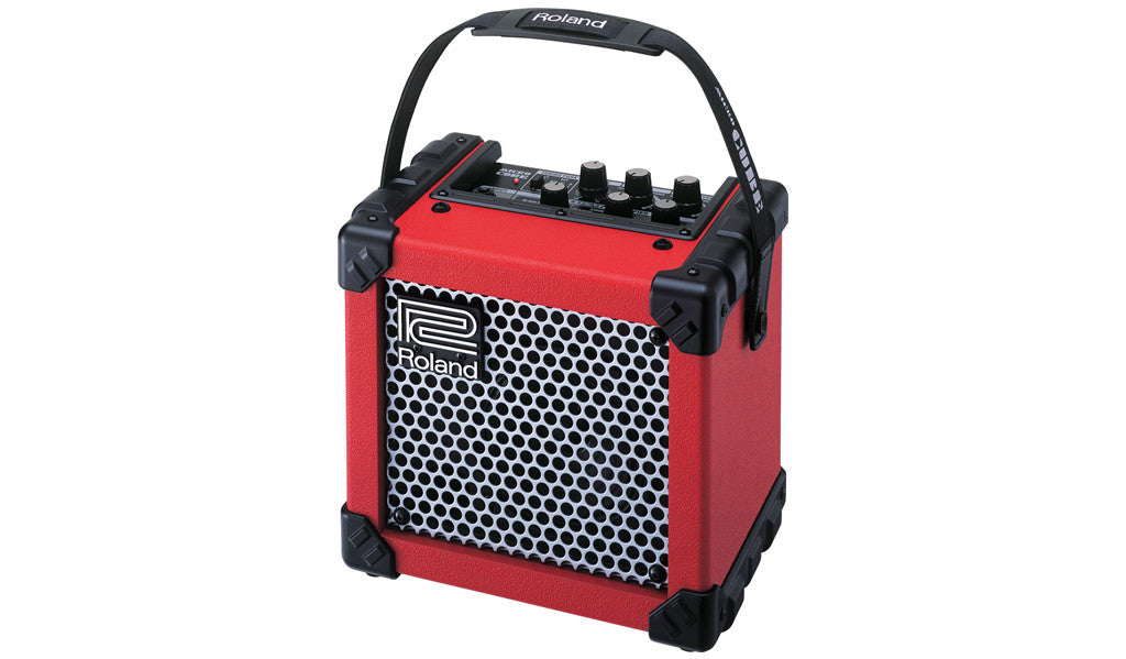 Roland Micro Cube Amplifier - Red
