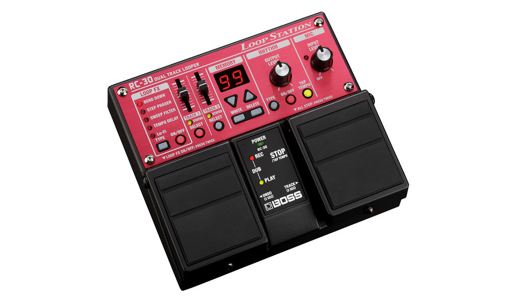Boss RC-30 Loop Station - Profile