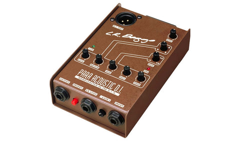 L.R. Baggs Para-Acoustic DI Box 5-Band EQ / Direct Box - Feature