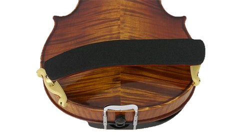 Kun Bravo Collapsible Violin Shoulder Rest - Mounted