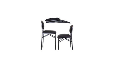 Vivo USA ADJUSTRITE Folding Musician's Chair - Folded