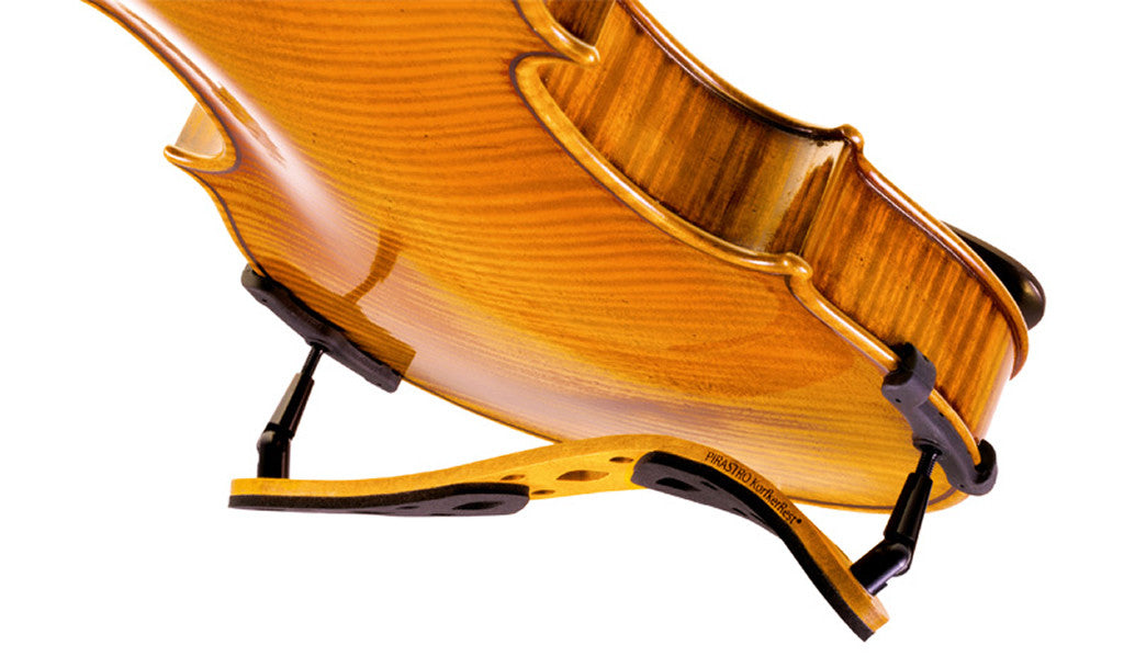 Pirastro KorfkerRest Violin Shoulder Rest - On Violin