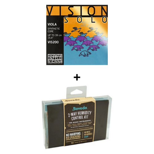 HOLIDAY BUNDLE - Vision Solo Viola VIS200 + Boveda Kit (small)