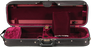 Bobelock 1003 Featherlite Oblong Suspension Violin Case with Velvet Interior