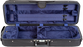 Bobelock 1003 Featherlite Oblong Suspension Violin Case with Blue Velour Interior