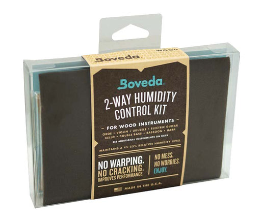 Boveda 2-Way Humidity Control Kit for Cello/Guitar
