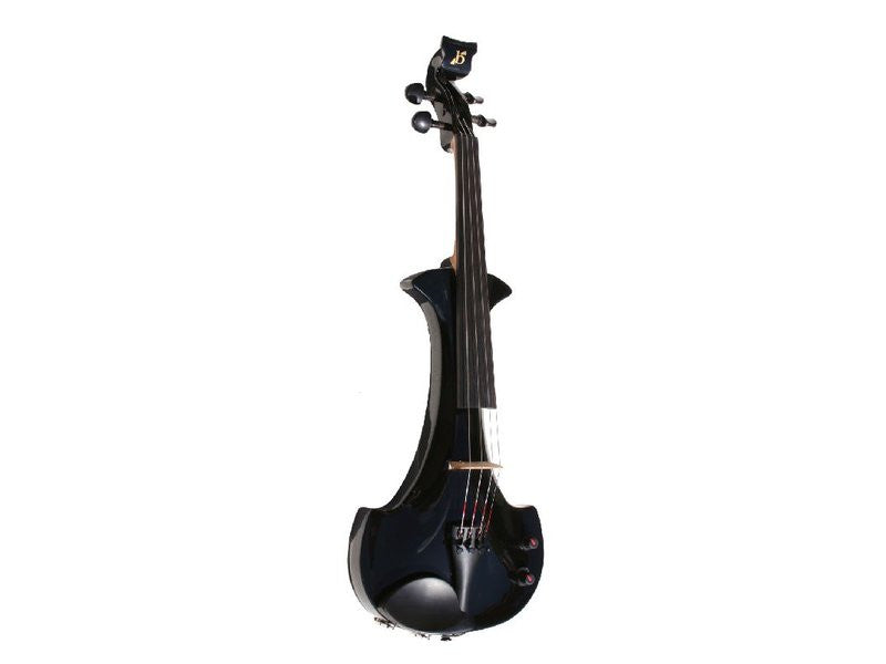 Bridge Aquila 4-String Electric Violin Outfit - Black