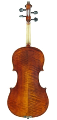 Geoffrey Antique Model Violin available at The Long Island Violin Shop - back view