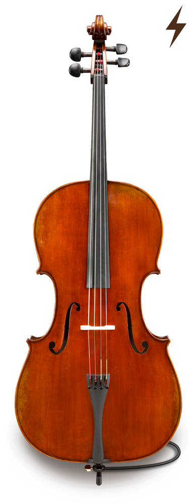 Albert Nebel Model 601 Electro-Acoustic Cello