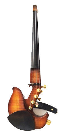 Custom - Jordan 4-String Electric violin w/ StringAmp & Sunburst Flamed Maple Body