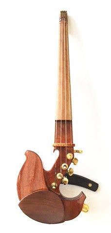 Custom - Jordan 4-String Electric Violin w/ Barbera Twin Hybrid Bridge & Pink Ivory Wood Fingerboard