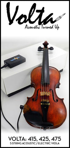 Volta 400 Series Acoustic Electric Viola - 5 String