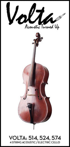 Volta 500 Series Acoustic Electric Cello