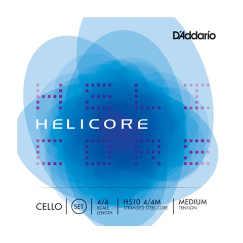 D'Addario Helicore Tungsten-Silver / Titanium Cello Strings