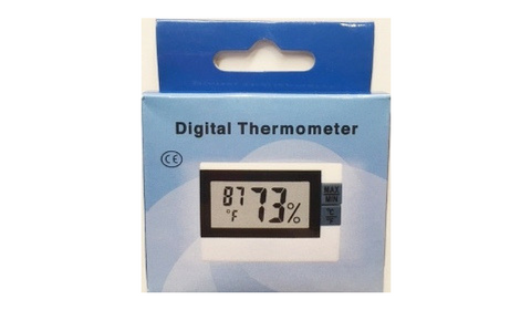 Stretto Digital Thermometer/Hygrometer