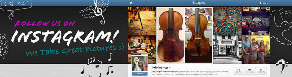 Follow The Long Island Violin Shop on Instagram