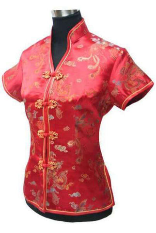 chemise dragon traditionnelle chinoise