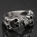 Bague Dragon Double Skull | L'Antre du Dragon